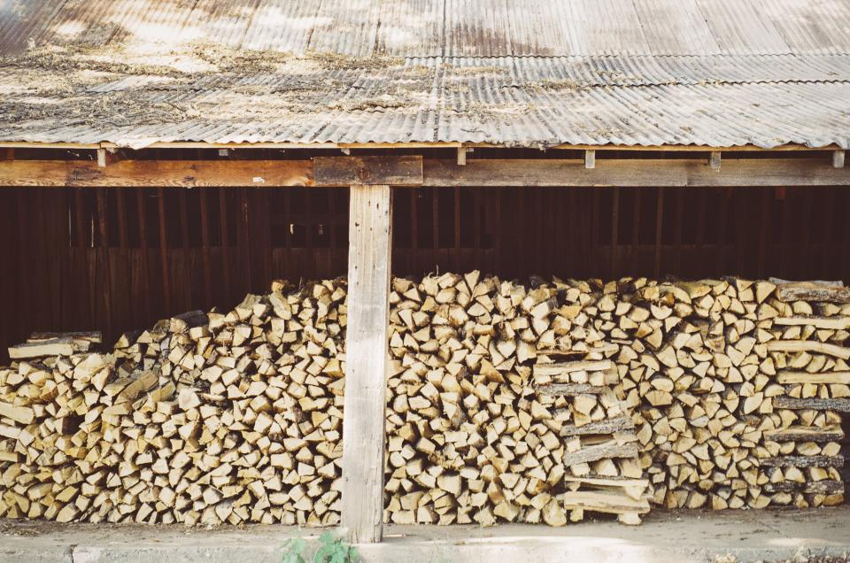 wood lumber yard