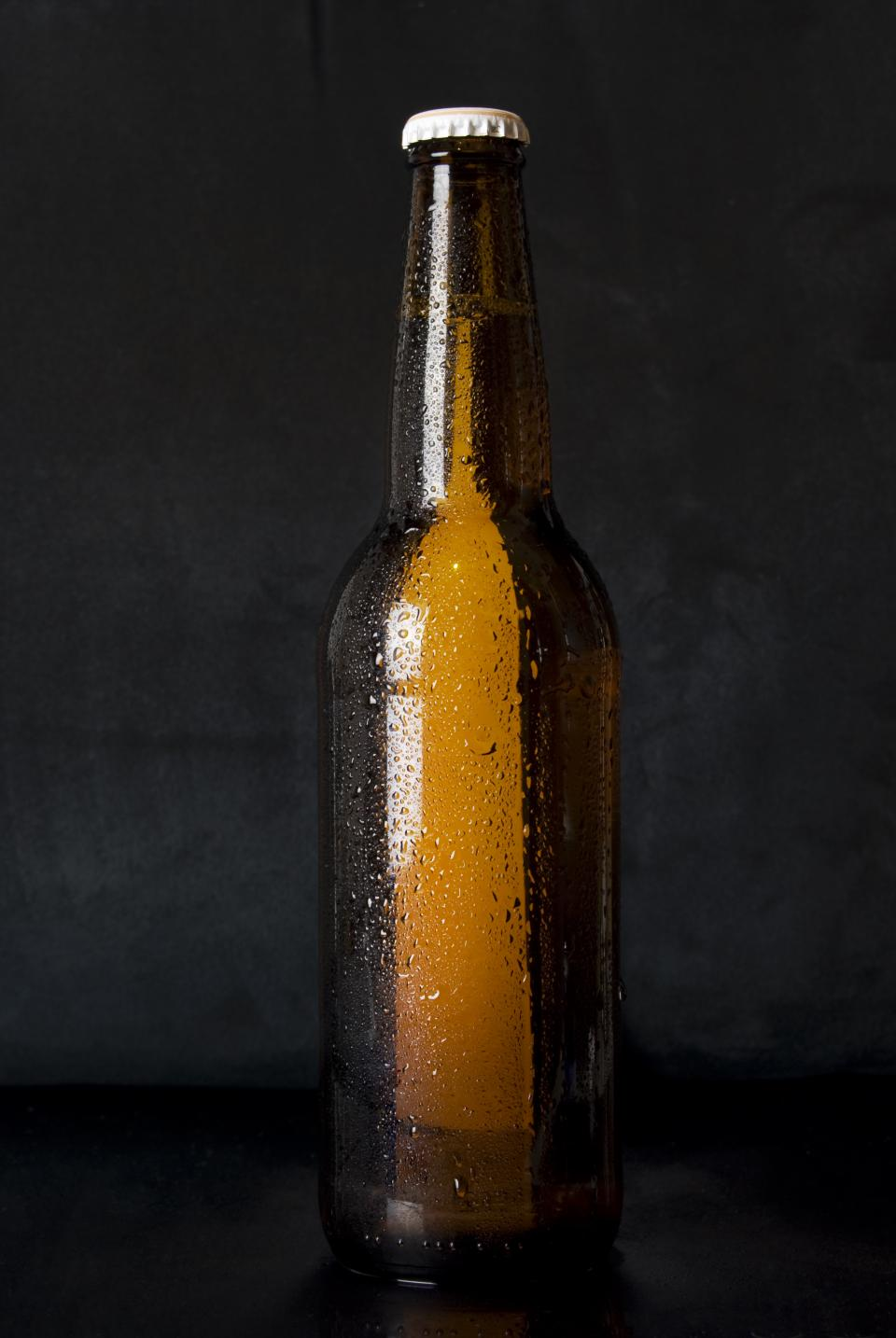 beer bottle alcohol brew cold