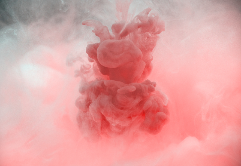 abstract art burst cloud color creative design dissolve drip drop dye explosion smoke liquid mixed macro motion movement paint pink