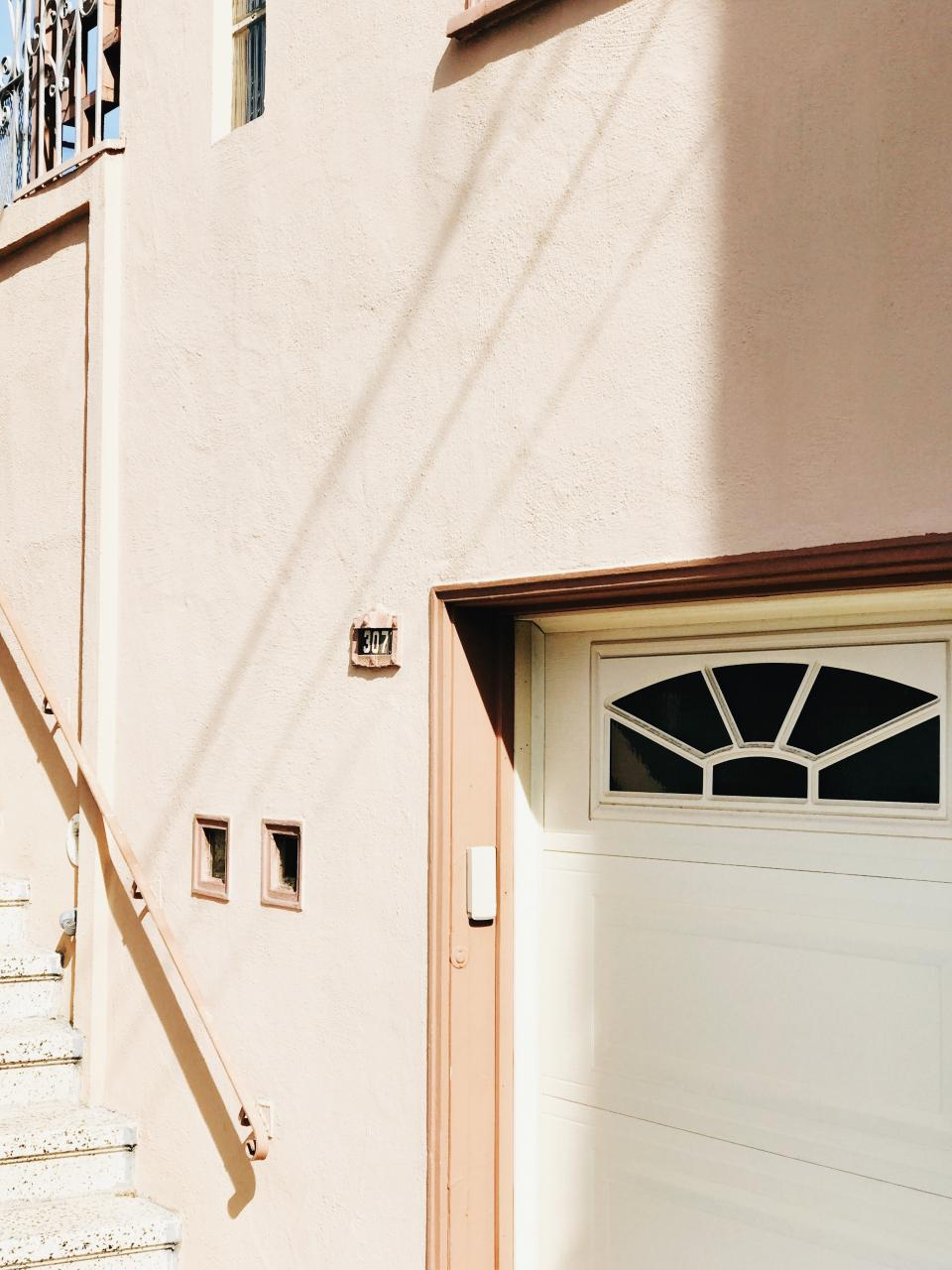 architecture house home stairs door peach number