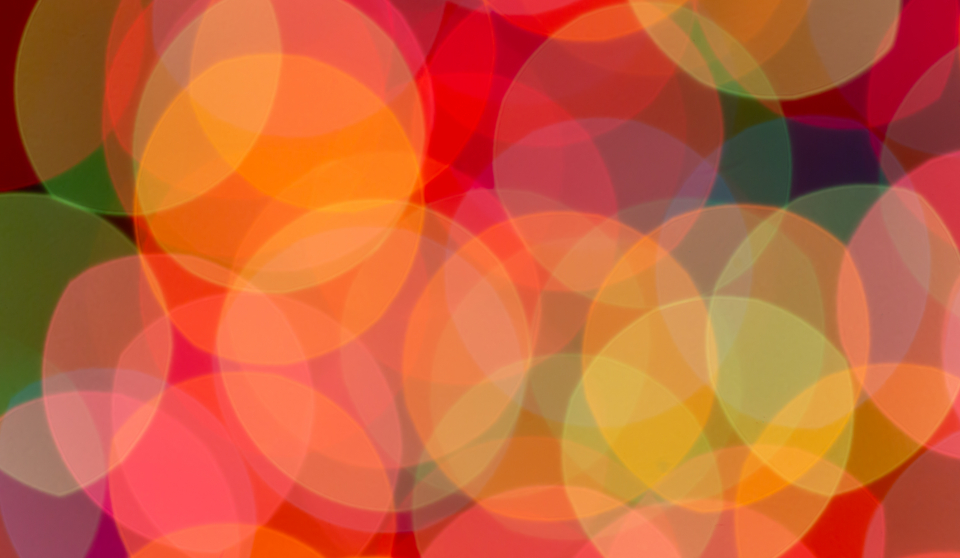 bokeh colorful lights blurred focus background wallpaper creative design circles pattern abstract