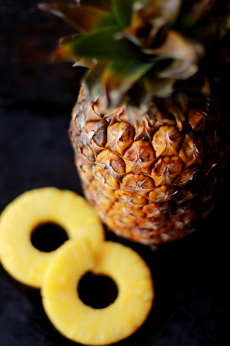 pineapple fruit food desserts sweets health vitamins