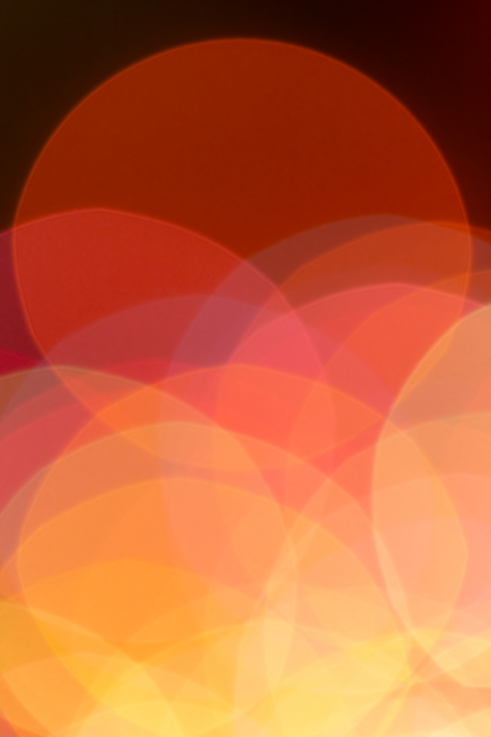 bokeh abstract art lights creative design background colorful soft focus blurred circle effect glow wallpaper red orange yellow