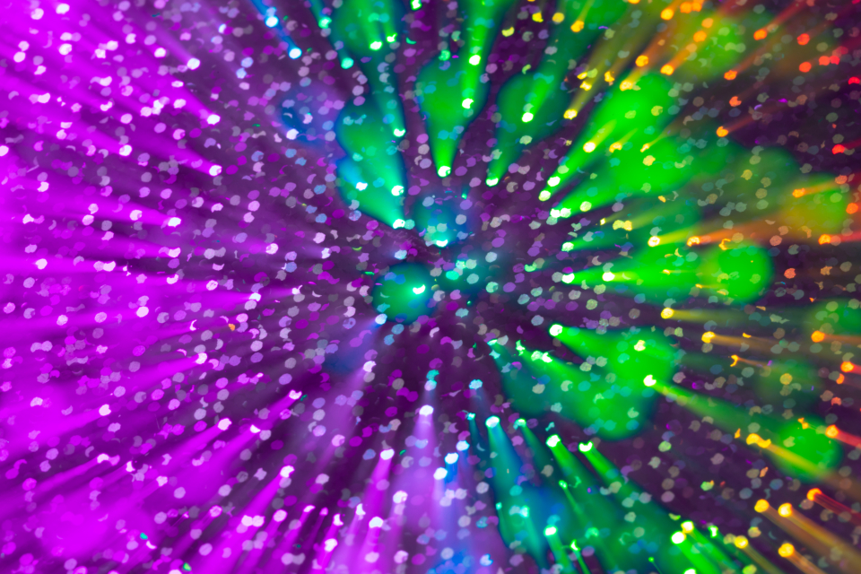 color zoom motion colorful abstract creative design wallpaper explosion pattern blur particles purple green effect glitter