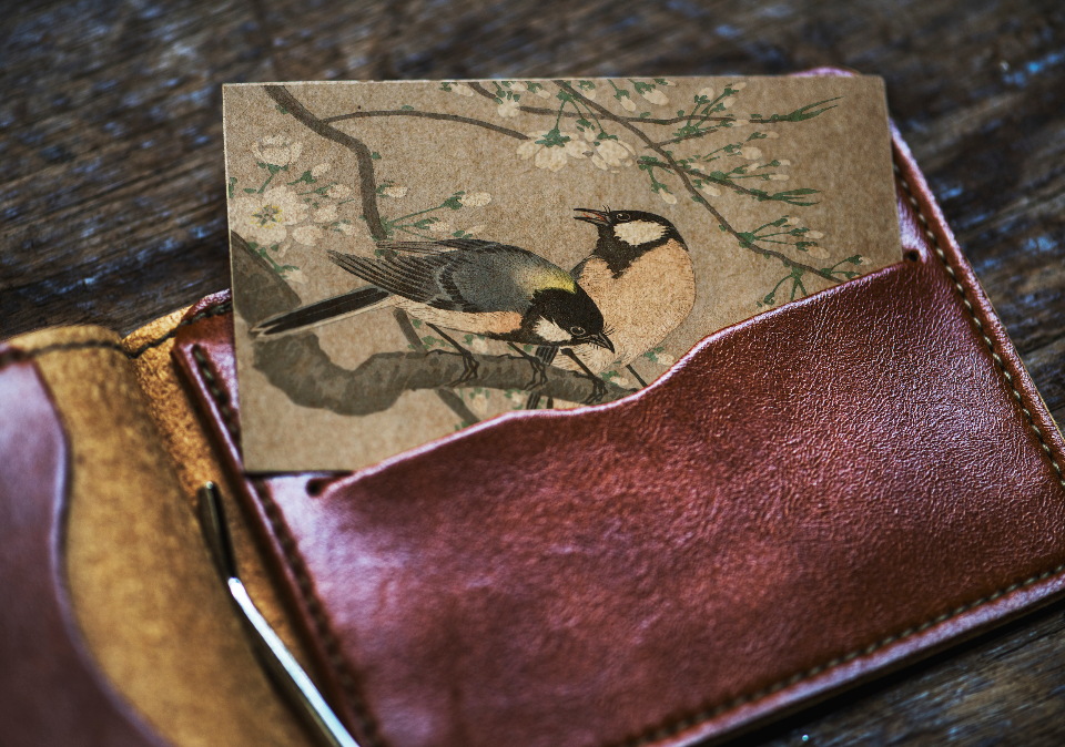 animal antique art bird birds card classic closeup copy space design space drawing empty lifestyle mock mockup old paper retro space up vintage wallet