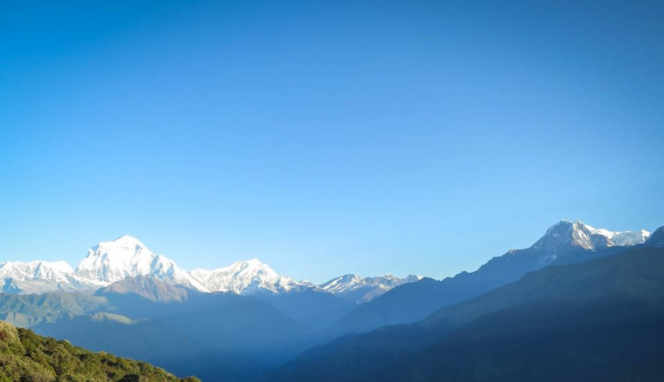 Annapurna Mountain Range Nepal mountains