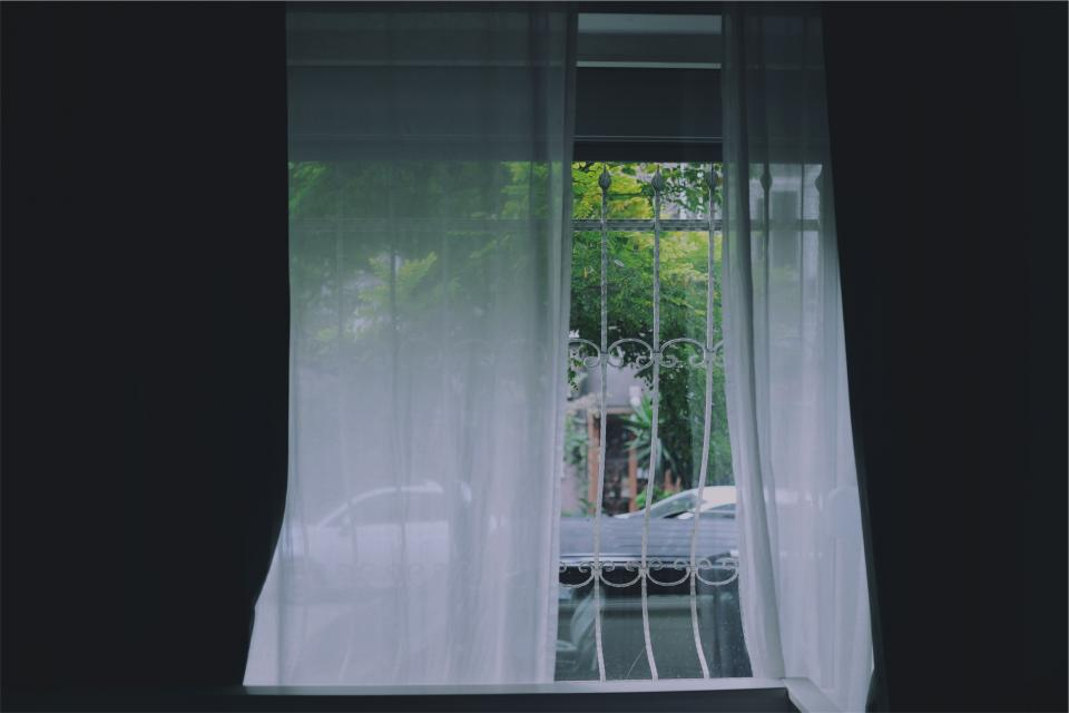 curtains window room