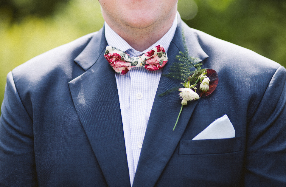 groom wedding suit bow tie man fashion celebration