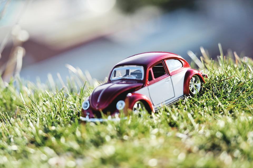 crafts hobby miniature cars still items things toys model scale grass bokeh