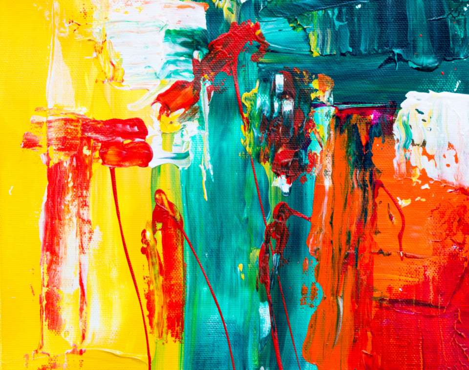 bright abstract painting background hd wallpaper colorful art artist creative design paint paintbrush acrylic canvas close up oil texture