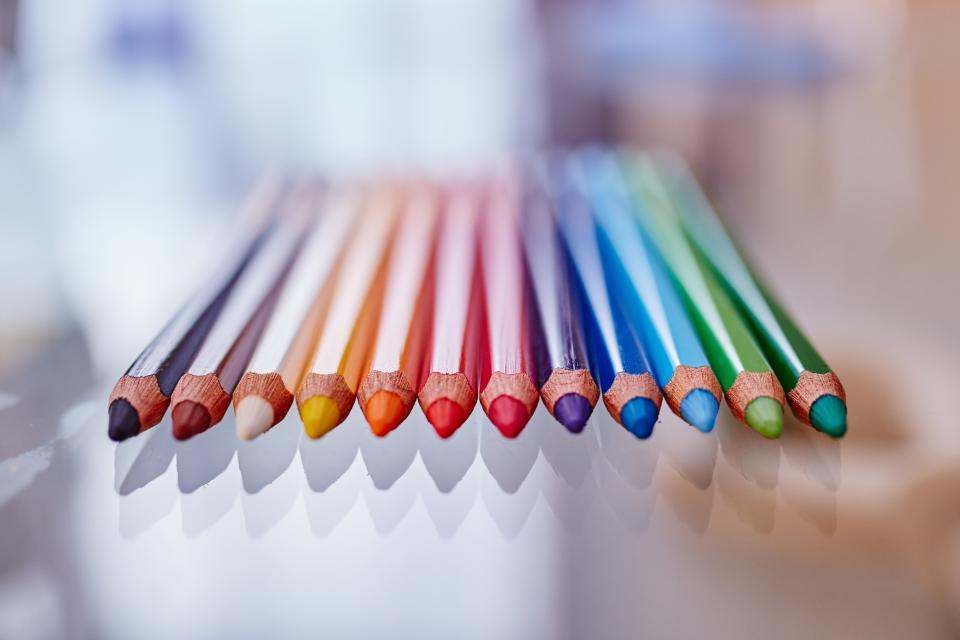 pastel crayons colors colours art drawing creative