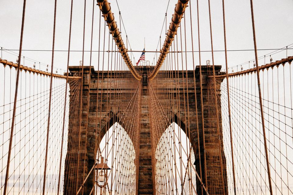 Brooklyn bridge architecture american