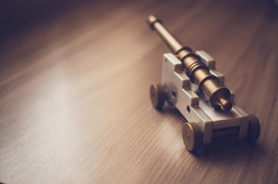 toy cannon objects wood