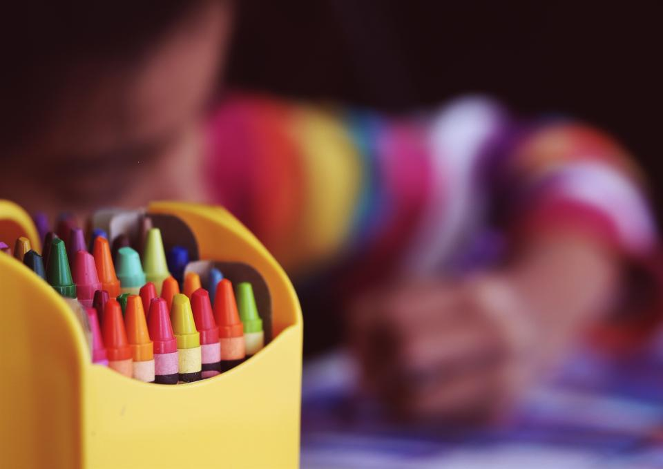 crayons drawing art creative colors colours