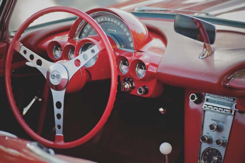 classic car interior design style travel trip