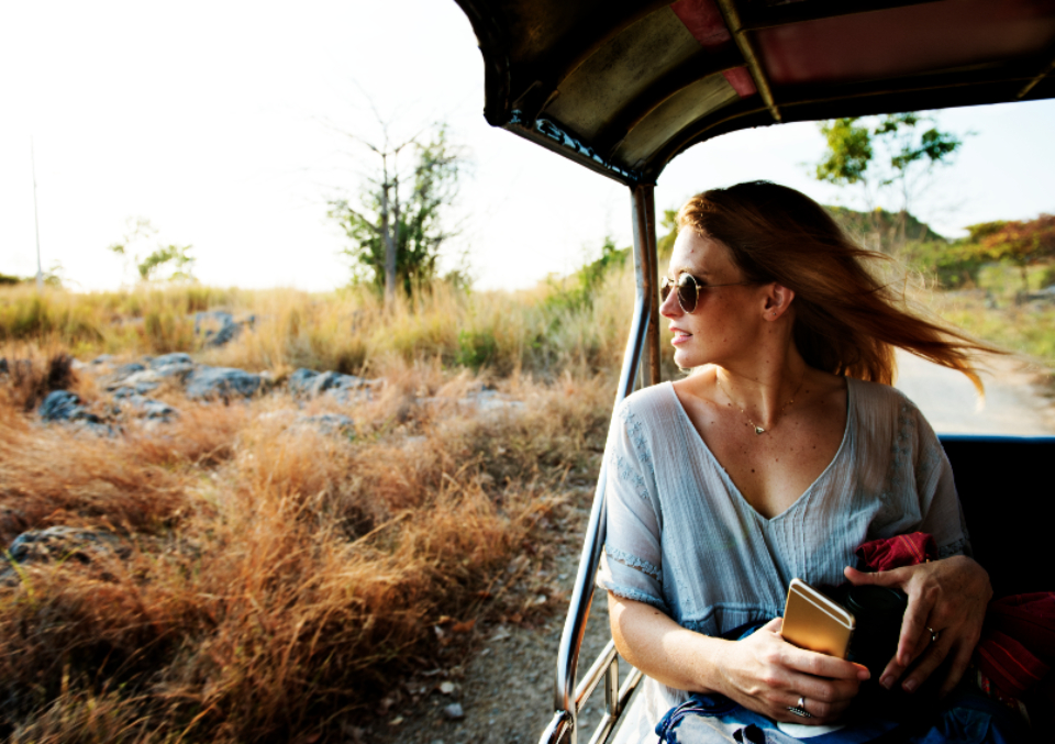 chill enjoyment explore freedom girl grass hobby holiday journey leisure nature on the road outdoors peaceful recreation relaxation road trip serene summer sunglasses tourism travel traveling vacation woman people sunglasses