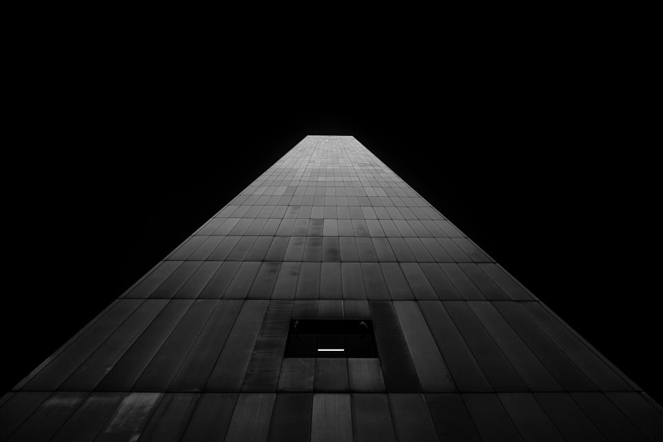 architecture building infrastructure structure establishment black and white monochrome