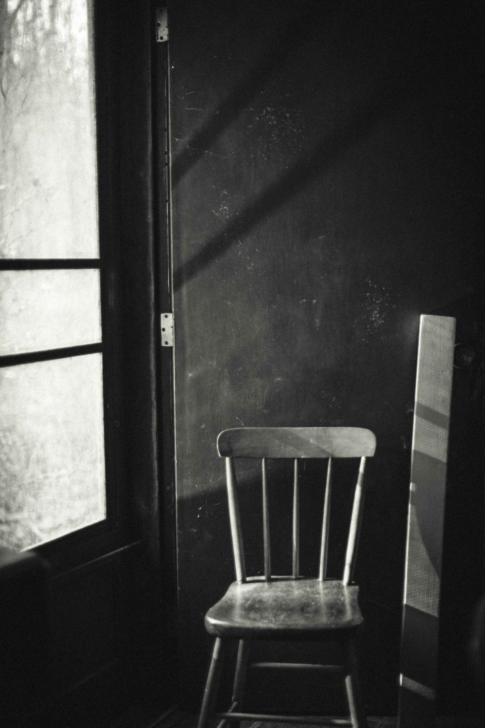 chair room dark