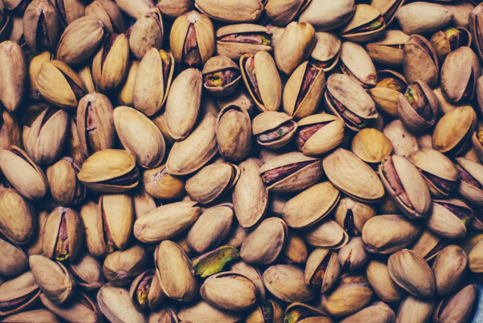 pistachios nuts food snacks