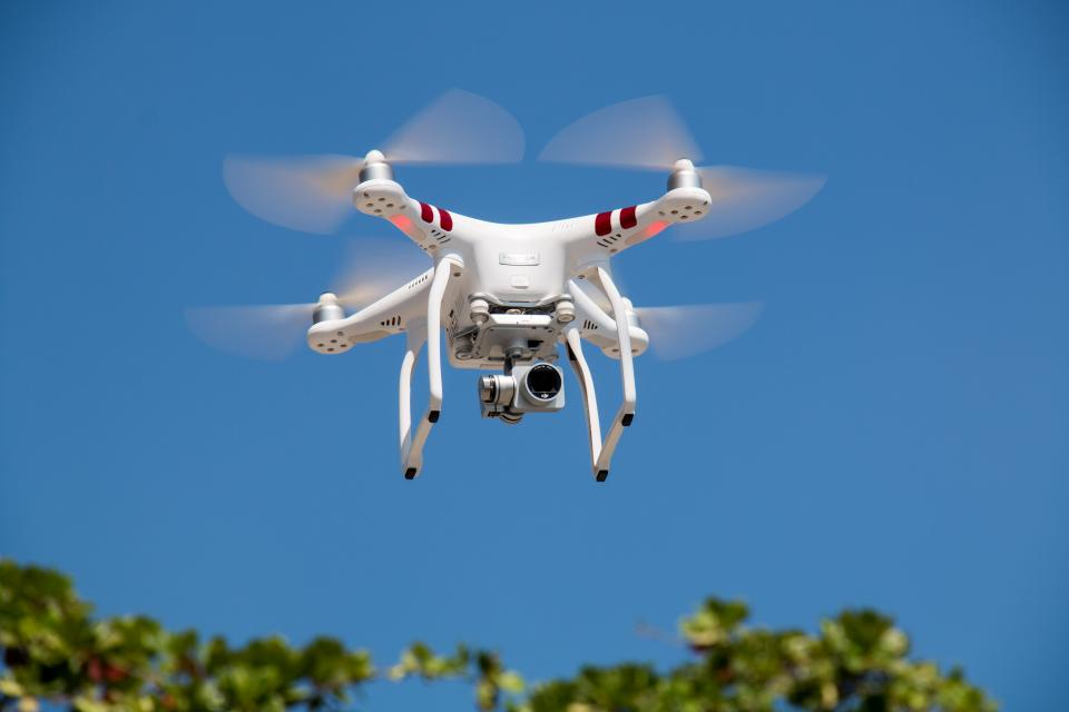 camera drone hd helicopter photography outdoor blue sky
