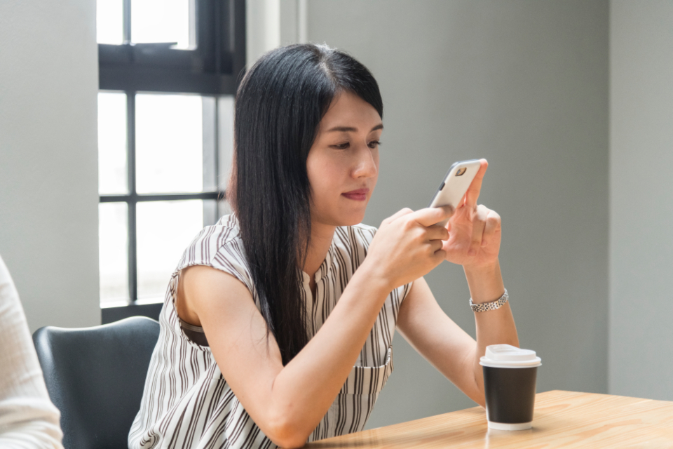 asian beautiful cellphone chat chatting communication community connecting connection data device digital electronic ethnicity gadget global information innovation internet japan japanese media message messaging mobile networ