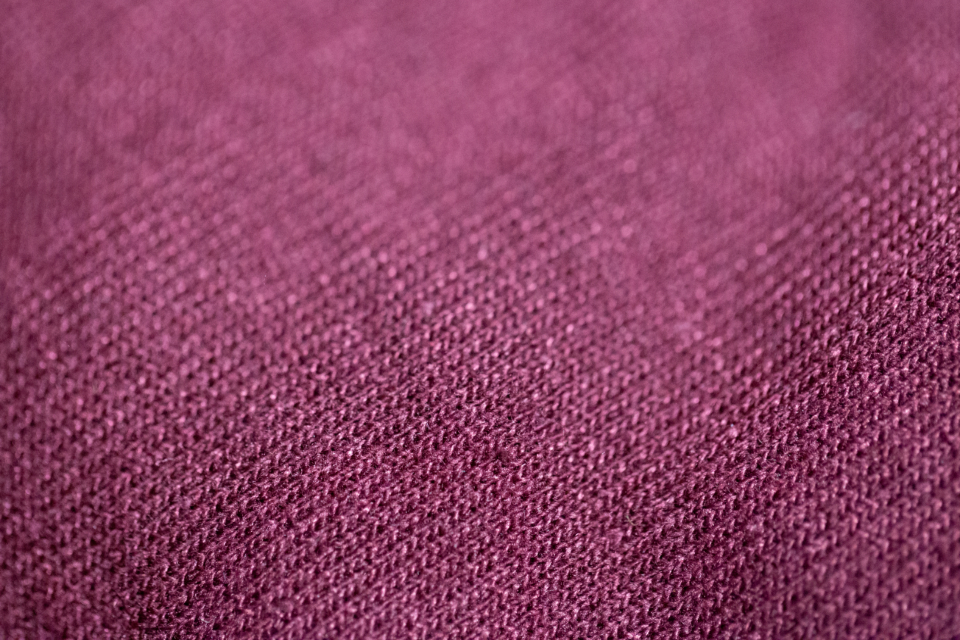 fabric texture close up macro maroon pattern clothing sewn copy space