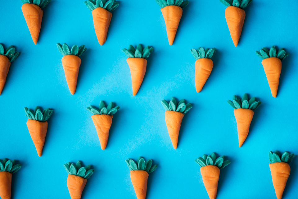 artificial background blue clay close-up colorful culinary cute dollhouse eat education fake food garden handmade harvest miniature miniatures orange pattern plastic stuff toy vegetables carrot carrots