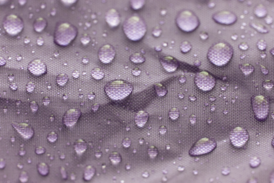 water droplets macro fabric wet rain climate weather drip texture