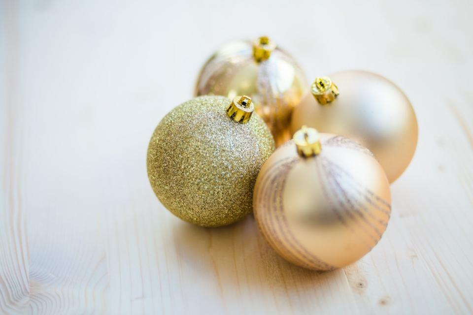 christmas ornaments ball decoration glitters