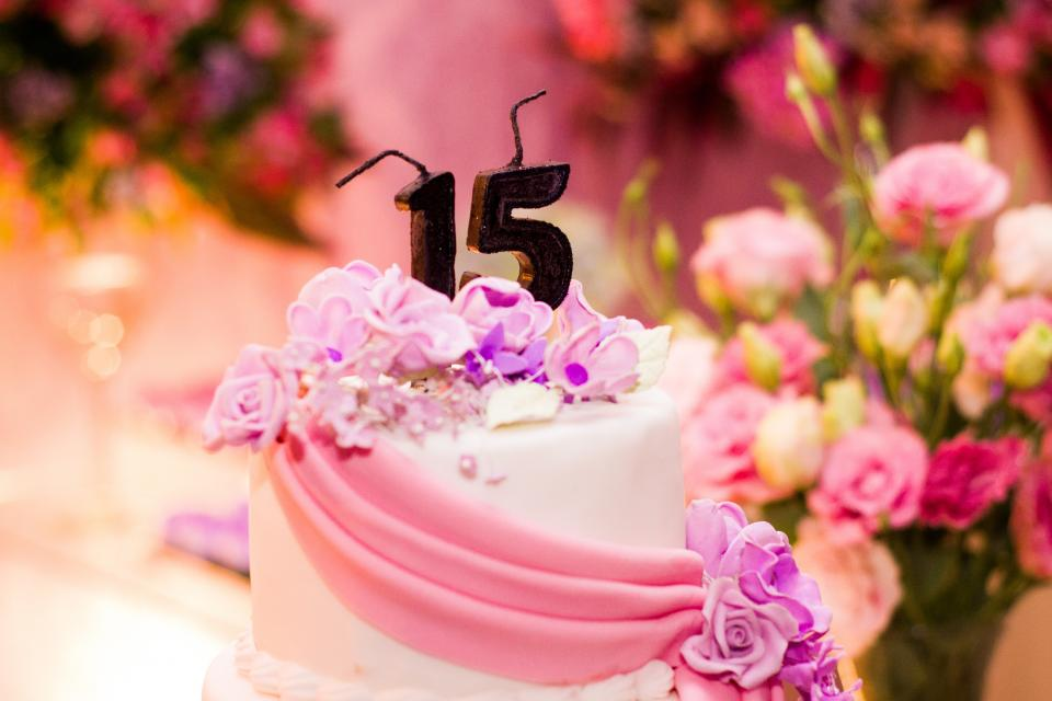 birthday party cake decorating food desserts sweets flowers number