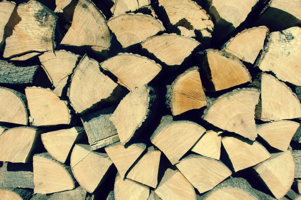 wood logs lumber texture