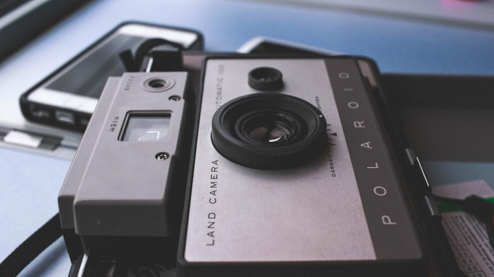 Polaroid camera lens photography vintage oldschool objects technology