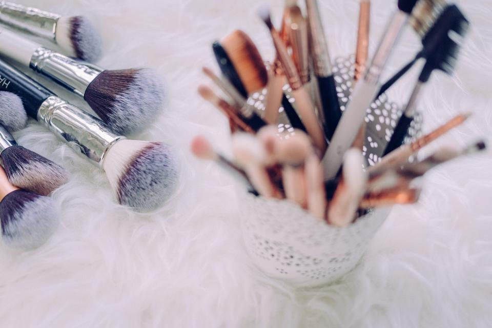 makeup brush things bokeh blur kit beauty cosmetic