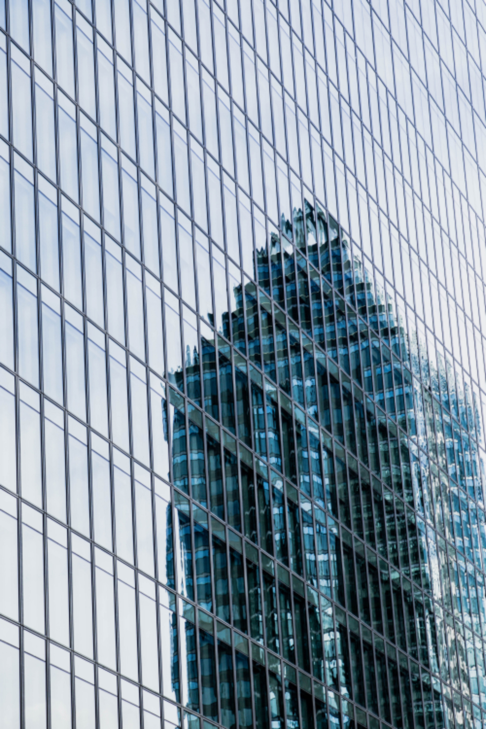 skyscaper city building tall downtown architecture modern urban glass exterior reflection structure business