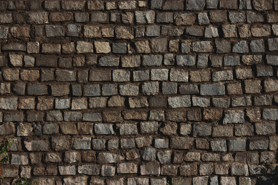 bricks wall stone texture pattern architecture