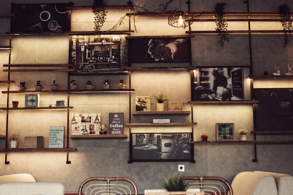 Vintage Coffee Shop Decor | www.pixshark.com - Images ...