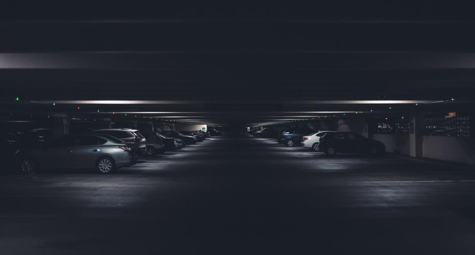 dark ground basement car vehicle parking
