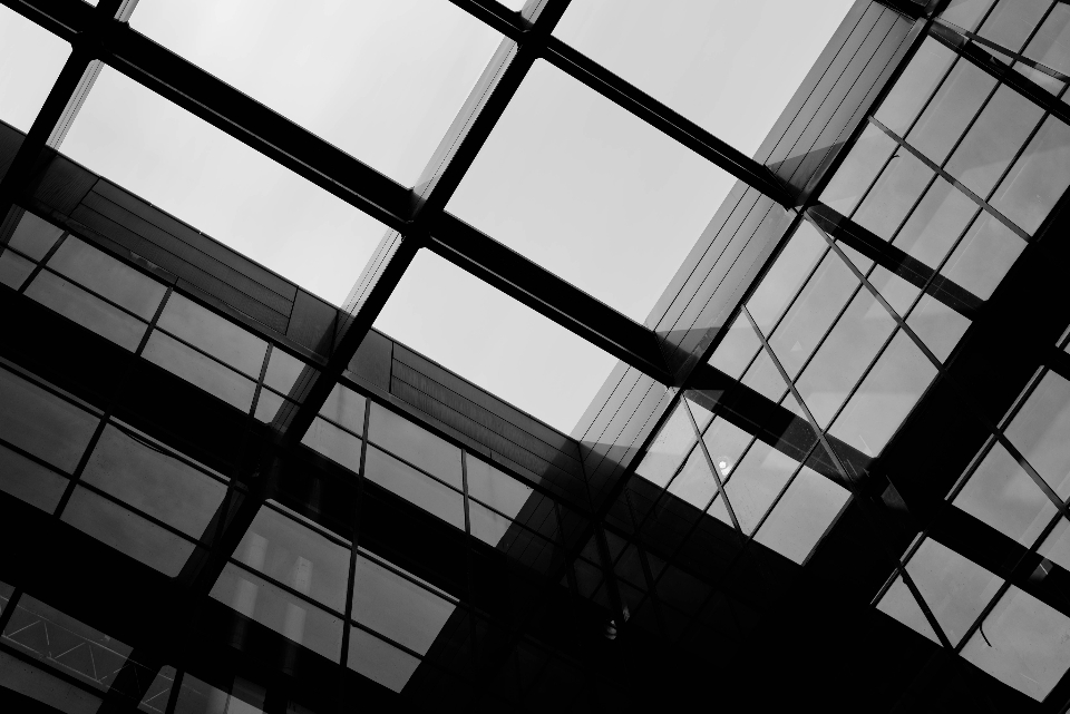 urban architecture pattern building city industrial downtown structure dramatic moody abstract modern contrast perspective