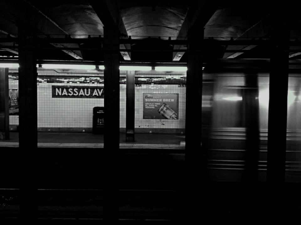 subway station transport signs