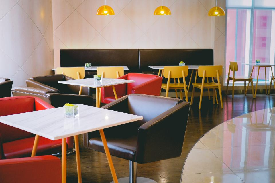 indoor furniture tables chairs restaurant coffeehouse bar