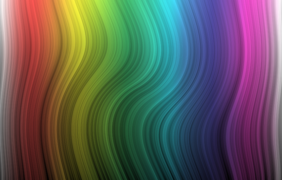 abstract gradient background rainbow color digital art waves ripple wallpaper creative colorful red yellow green blue spectrum