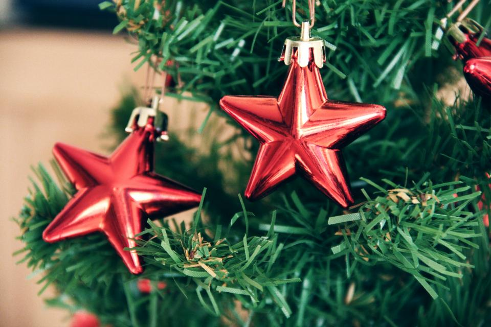 christmas tree stars decorations ornaments