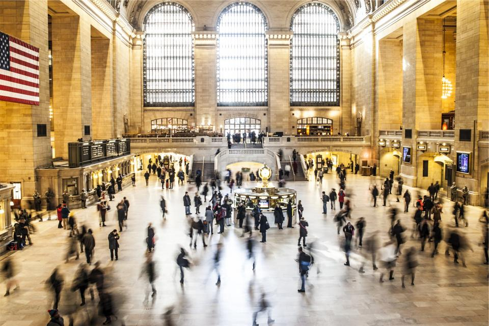 Grand central station New York NYC