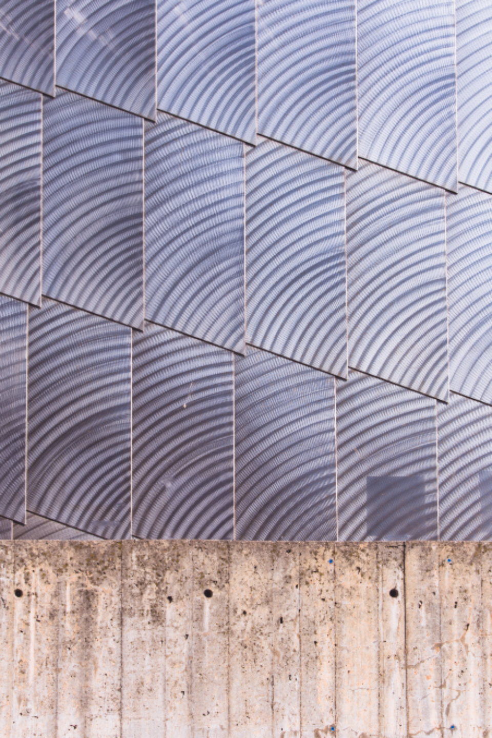 architecture abstract structure building city modern design exterior futuristic background wall concrete steel