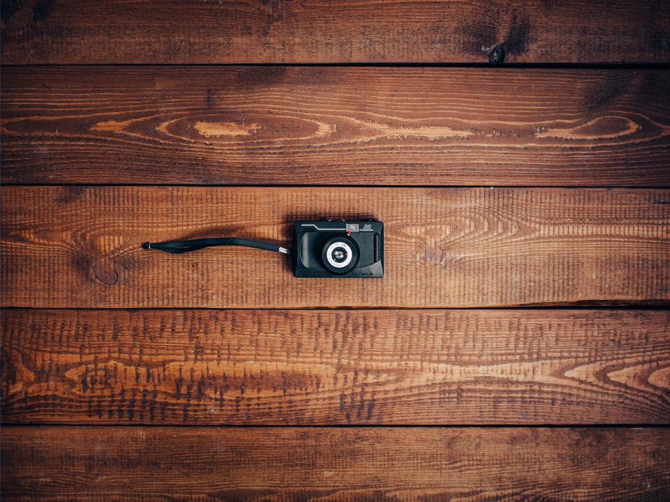 camera vintage oldschool wood grain texture pattern objects