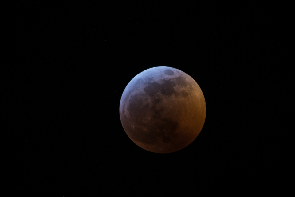 lunar eclipse moon sky night nature space astronomy science