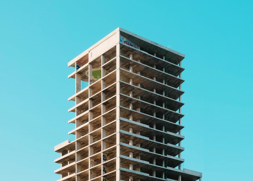 architecture building infrastructure tower blue sky