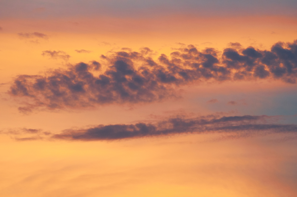 sunset pink sky clouds orange dusk dawn light pastel evening climate nature abstract background natural cloudscape