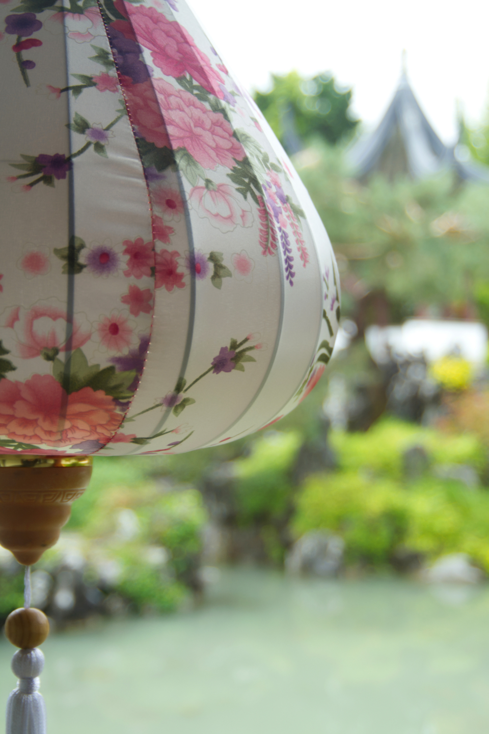 chinese china asian decoration celebrate oriental ornament lamp colorful art decor elegant hanging lantern floral