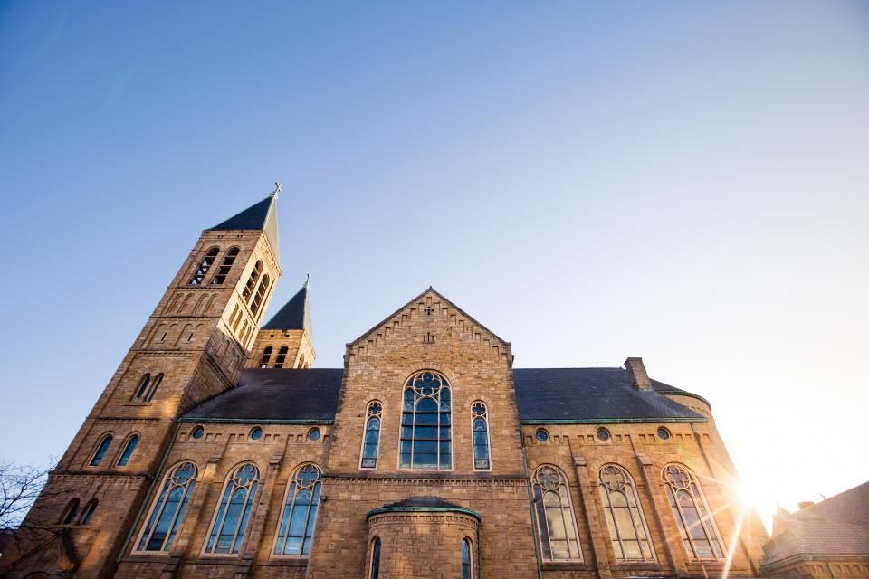 architecture design building structure church cathedral sky sunlight sunshine sunrise sunset